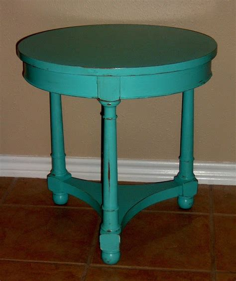 turquoise side table 18 best images about end tables on 2971