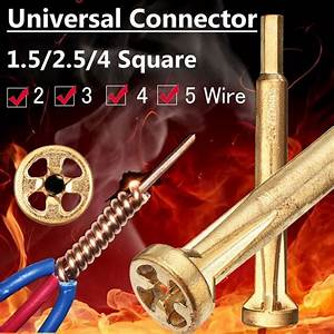Universal Wire Connector Electrical Cable Quick Connector