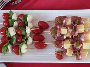 Idée Brochette Apéro : brochettes ap ritives cuisine brochettes ap ritives ~ Melissatoandfro.com Idées de Décoration