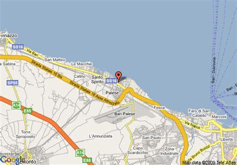 Best Western La Baia Palace by Map Of Best Western La Baia Palace Hotel Bari