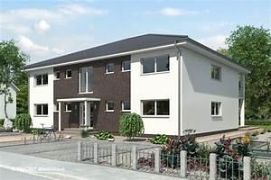 Doppelhaus Fertighaus Schlüsselfertig : favorit massivhaus ~ Frokenaadalensverden.com Haus und Dekorationen