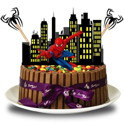 Topo de bolo Homem Aranha no Elo7 Brl Flex Festas (703E4B)