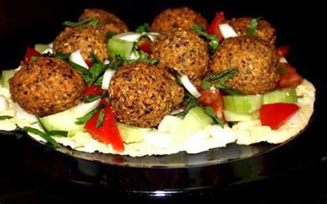cuisine libanaise falafel recette falafel à la libanaise et duo de sauces économique