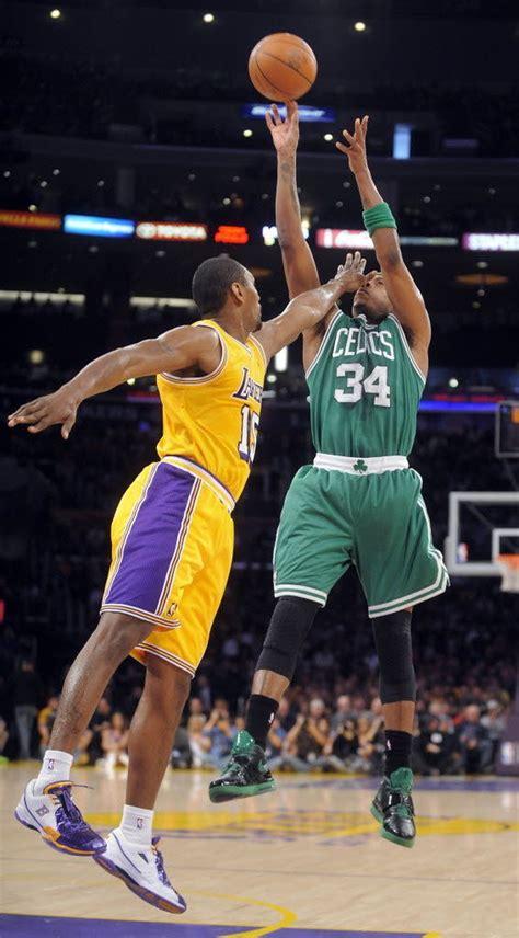 Pierce, Celtics dust Lakers, 109-96 - masslive.com