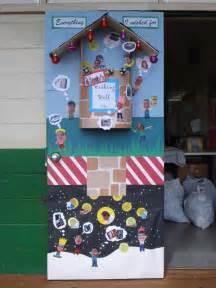 High School Christmas Door Decorating Contest