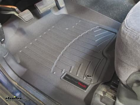 weathertech floor mats silverado 2002 chevrolet silverado floor mats weathertech