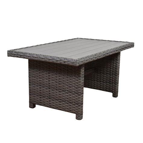 rectangular patio dining table brown jordan greystone patio dining table with umbrella