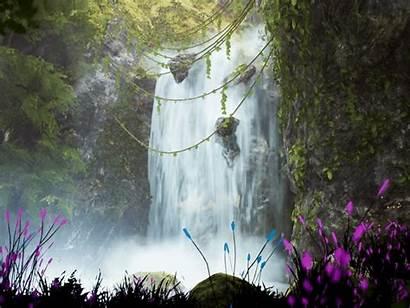 Waterfall Ue4 Wip Vfx Artstation