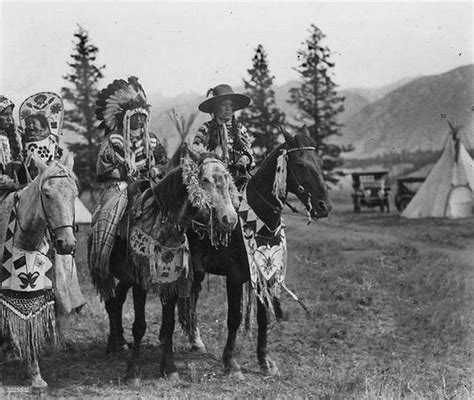 tribes indian native nations nation canada american columbia british horses indians stoney kootenai history chiefs