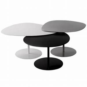 Table Basse Forme Galet : table basse galet 3 mati re grise avant premi re sabz ~ Teatrodelosmanantiales.com Idées de Décoration