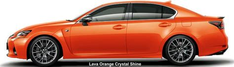 gsf lexus orange new lexus gs f body color photo exterior colour picture