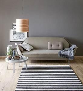 wohnen mit farben dunkelgrau fur die wand bild 6 With balkon teppich mit manhattan tapete