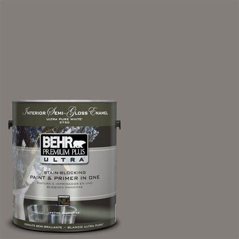 behr premium plus ultra 1 gal ul260 3 suede gray semi