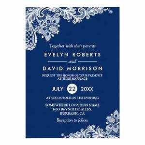 navy blue wedding invitations announcements zazzle With wedding cards in electronic city