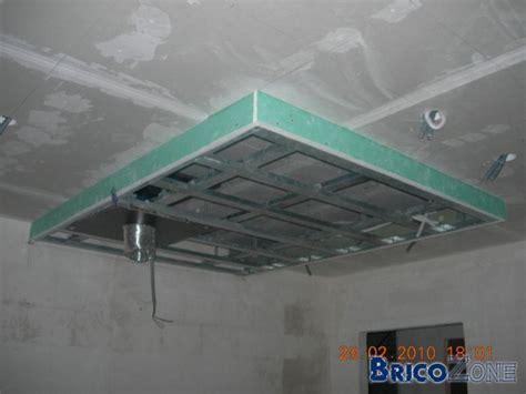 staff cuisine plafond cuisine plafonds staff en décaissé avec intégration d