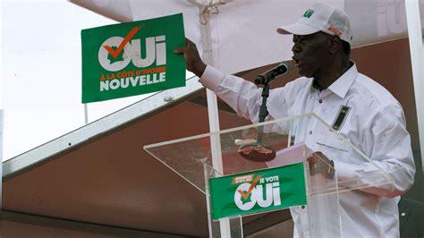 Cote Divoire News C 244 Te D Ivoire Constitutionnet