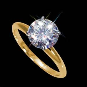 2 carat solitaire engagement ring 5 00 mm 1 2 carat forever brilliant certified cut moissanite engagement solitaire ring