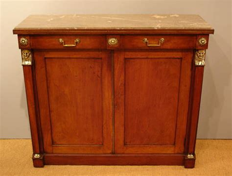 Antique marble top cabinet : Antique Chiffonier   Rosewood