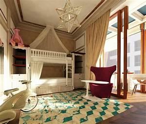 10 fabelhafte zimmer mit besonderem reiz With balkon teppich mit alice im wunderland tapete