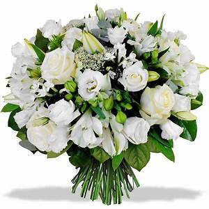 Fleurs Pour Mariage : bouquet fleur blanche mariage ~ Dode.kayakingforconservation.com Idées de Décoration