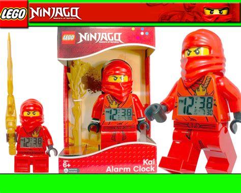LEGO NINJAGO KAI Wecker Große Figur Kai als Uhr Alarm