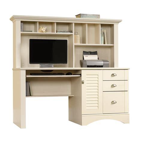 white computer desk hutch antique white computer desk