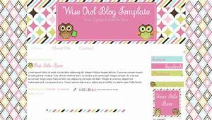 teacher blog templates pink owl design for blogger wise With free blog templates for teachers