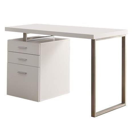white desks at walmart monarch white hollow 48 quot l desk walmart ca