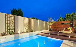 jardin avec piscine 24 photos designs splendides par oftb With amenagement terrasse exterieure design 4 piscine exterieur 90 photos et idees inspirantes