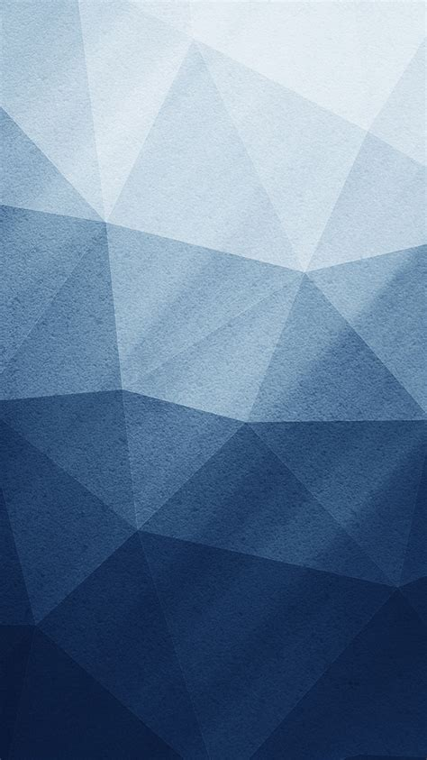 Pattern Iphone Wallpaper by Iphonepapers Apple Iphone Wallpaper Vz49 Polygon Blue