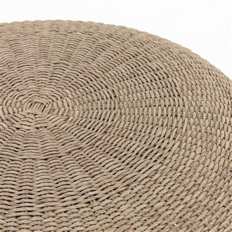 Shop for round white coffee table online at target. Ivonne Coastal Beach Round White Wash Woven Wicker Outdoor Coffee Table