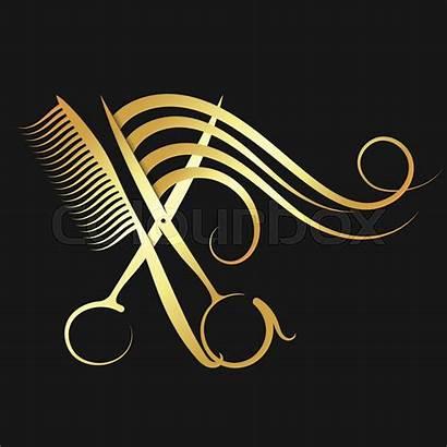 Scissors Comb Ciseaux Hairdressing Coiffure Peluqueria Peigne