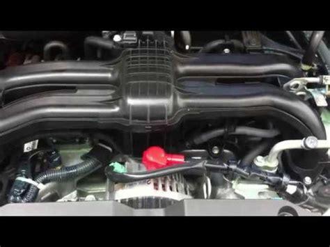 Subaru Forester Noise by Drehzahlschwankungen Leerlauf Subaru Forester Lpg