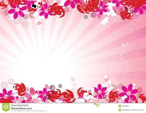 pink floral background   design stock vector