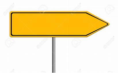 Sign Road Clipart Direction Template Signs Arrow