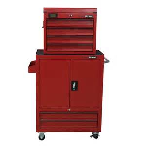 prosteel 6 drawer combo tool chest tower lowe 39 s canada - Bathroom Cabinet Design Tool