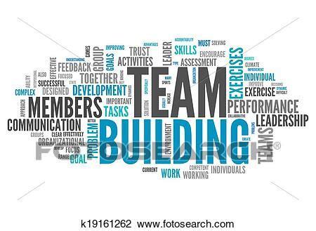 clip art  word cloud team building  search