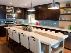 big kitchen island designs large kitchen islands hgtv