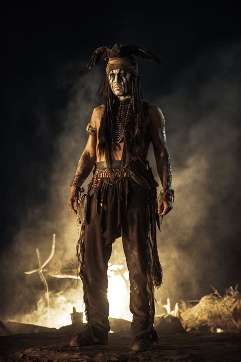 johnny depp lone ranger johnny depp is no sidekick in the lone ranger 4 photos front row features