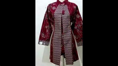 baju batik wanita modern model terbarujual