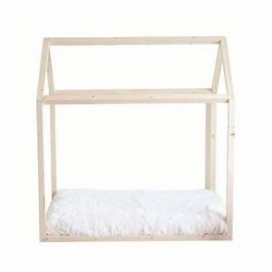Lit Montessori Cabane : lit cabane bois montessori ~ Melissatoandfro.com Idées de Décoration