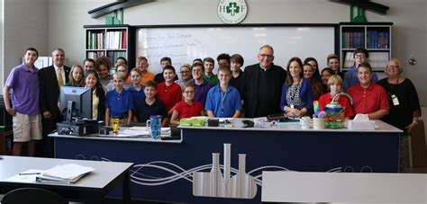 kitchen cabinets chicago holy family dedicates new science lab news 2920