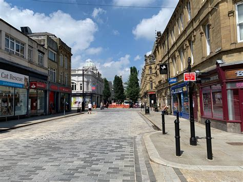12 pictures from Halifax town centre as shops reopens ...