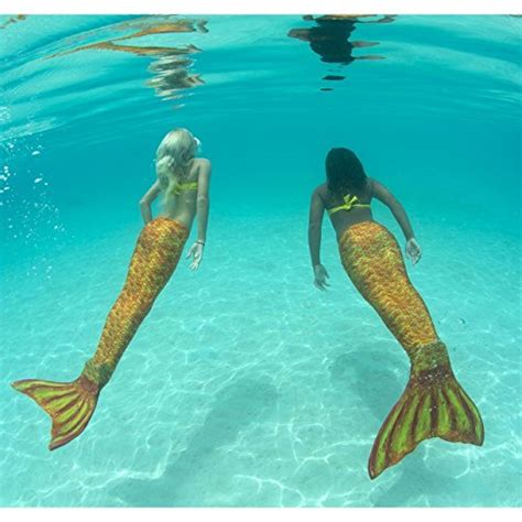 fin fun mermaid tails  swimming  monofin girls