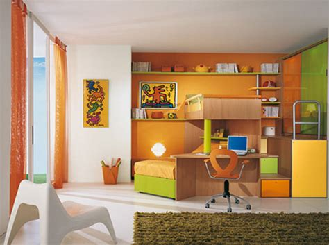 Contemporary Childrens Bedroom Interior Design