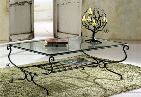 table salon fer forge d 233 co maison fer forge