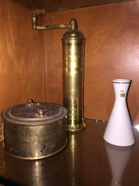 Caffeine grinders have been close to for a quite lengthy time, as coffee was getting brewed prior to electrical power was all of these older models will have a deal with, and will be manufactured of wood, cast iron or glass. I have this vintage at home. Old fashioned coffee grinder. - Yelp