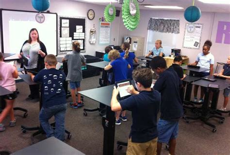 diy standing desk classroom a new direction in education
