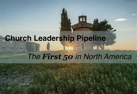 church leadership pipeline    churches  north