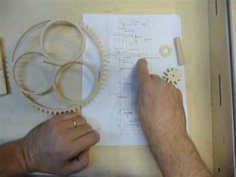 making   part   wooden gear clock youtube